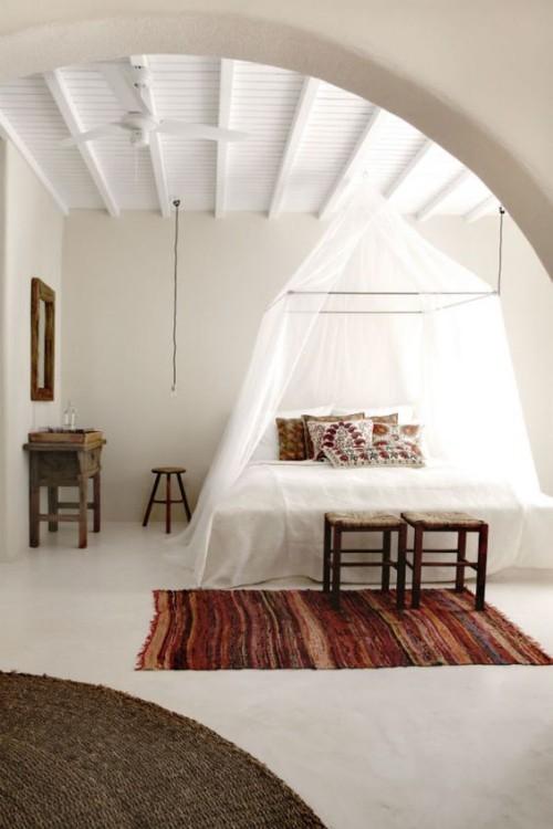 Mediterran wohnen Schlafzimmer