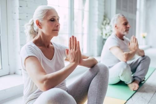 Meditieren zu Hause Relax Entspannung goldene Regeln für gesundes langes Leben