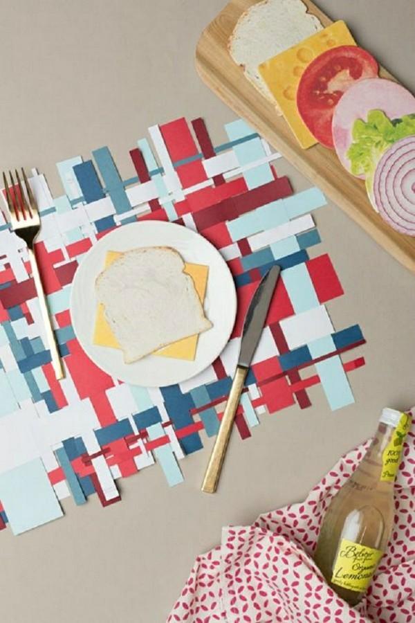 Tischdeko Ideen Tischordnung Platzordnung basteln mit kindern