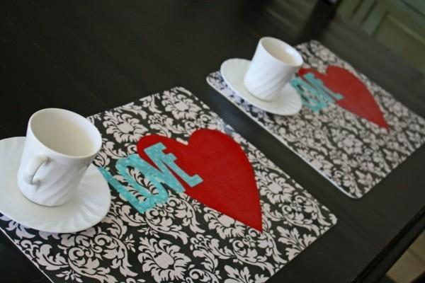 Tischdeko Ideen Tischordnung Platzordnung platzset yum ausmalen kaffeeklatsch