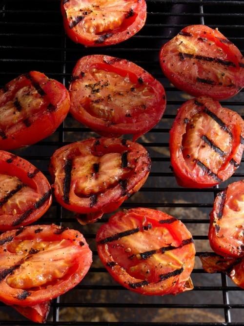 Vegetarische Grillrezepte Tomaten grillen