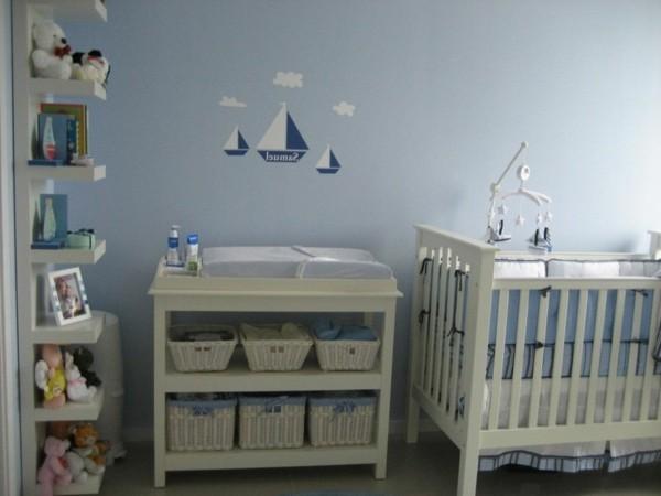 babyzimmer Deko Ideen alles dabei ikea regal