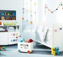 Hochwertig 42 Bunte Babyzimmer Deko Ideen Für Einen Farbenfrohen Start Ins Leben