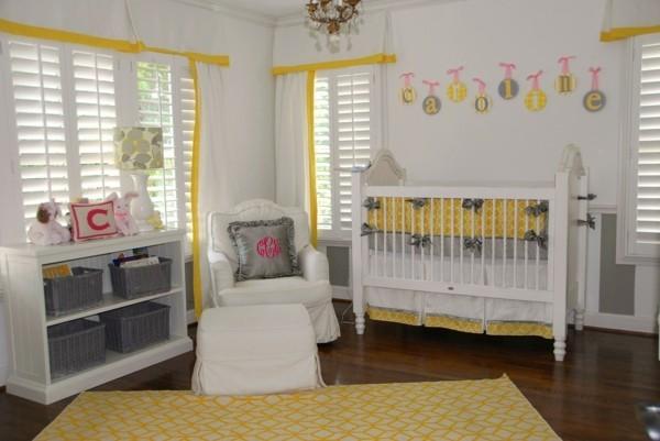 babyzimmer Deko Ideen farbenfroh