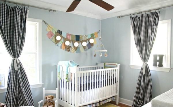 babyzimmer Deko Ideen klassisch weiss