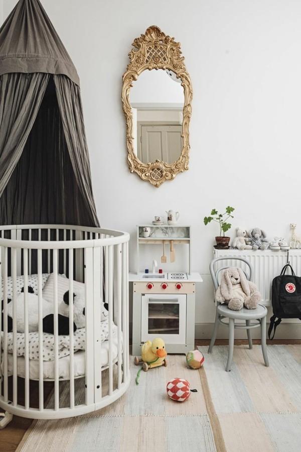 babyzimmer Deko Ideen pompoes