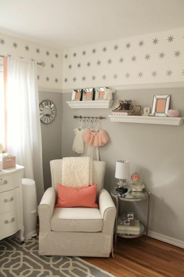 babyzimmer Deko Ideen stillen