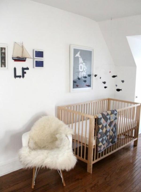 babyzimmer Deko Ideen weiss