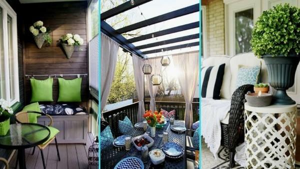 balkongestaltung einrichtungsideen balkon ideen palettenmoebel blau