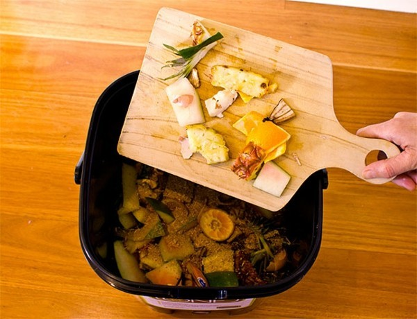 bokashi eimer küchenabfälle
