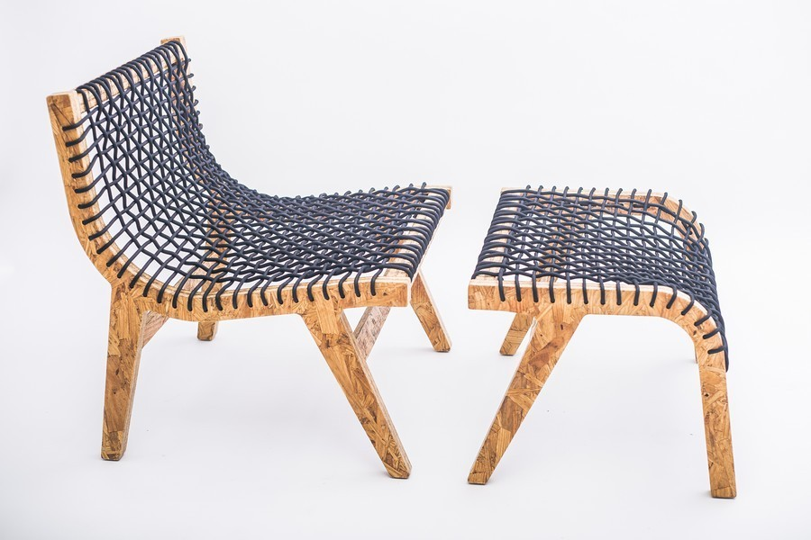 designer möbel trennbarer stuhl