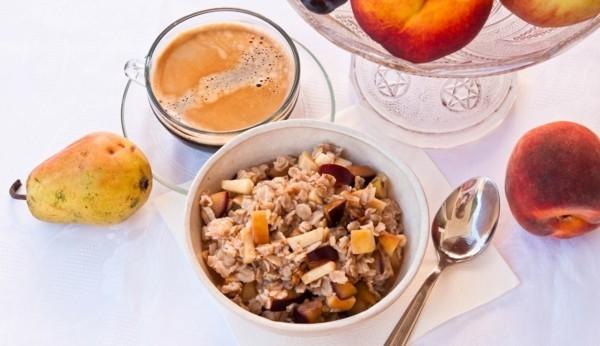 gesunde lebensmittel super tolles frühstück