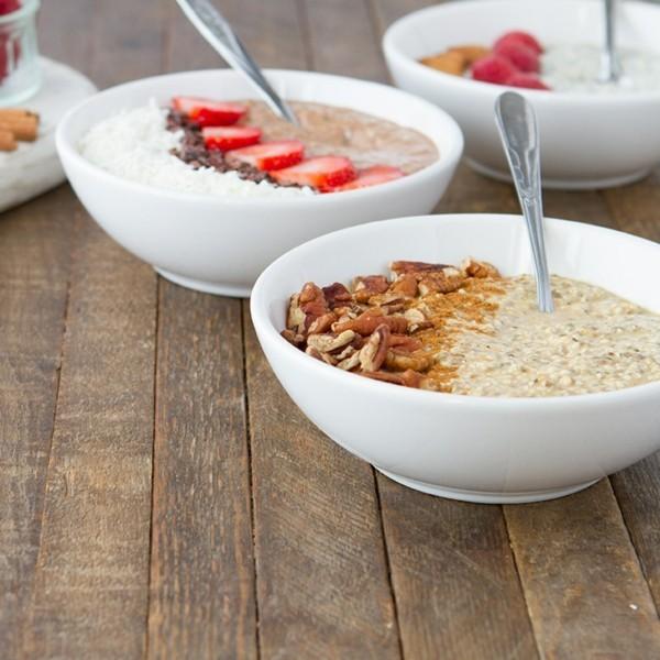 gesundes frühstück mandelmilch selber machen