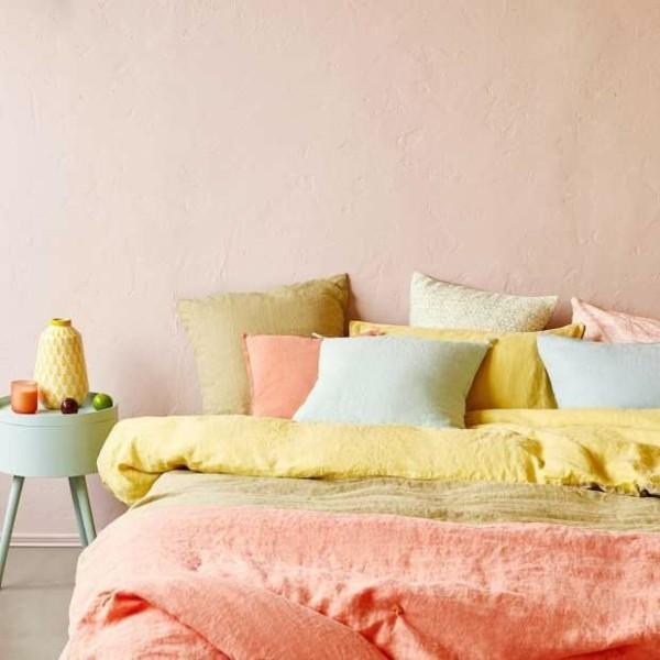 helle farben sommerdeko zuhause