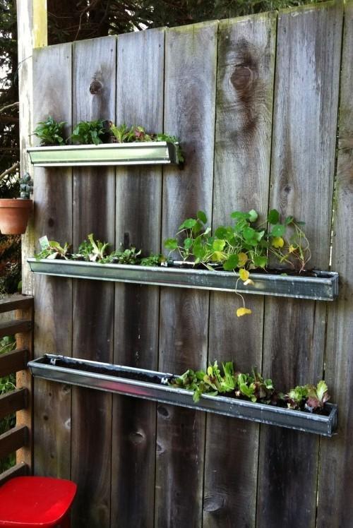 jede Fläche im kleinen Garten nutzen