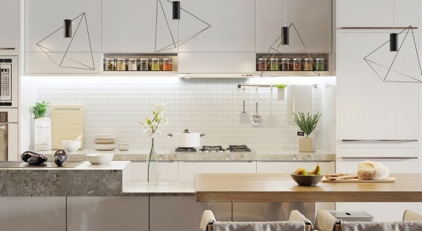 küche ergonomisch planen wohnungseinrichtung ideen