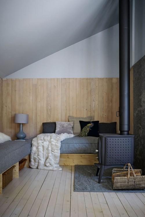 kamin und andere möbel wohnzimmer ideen