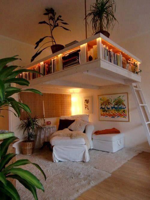 kleine schlafzimmer hoher raum