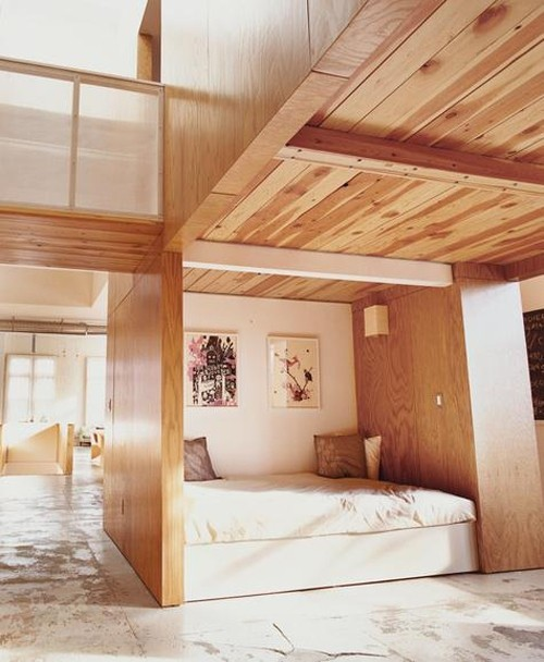 kleine schlafzimmer skandinavisches design