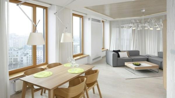 Kleines Wohnzimmer Mit Essbereich Einrichten Ideen