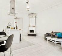 So können Sie Ihr kleines Wohnzimmer mit Essbereich einrichten