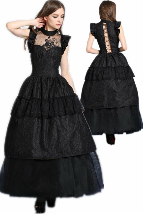 langes schwarzes kleid hochzeitsknigge