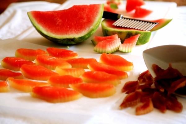 obst kandieren apfelringe selber machen ingwer kandieren wassermelone