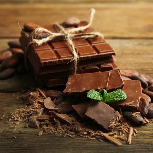 schokolade mit minze gesunde lebensmittel