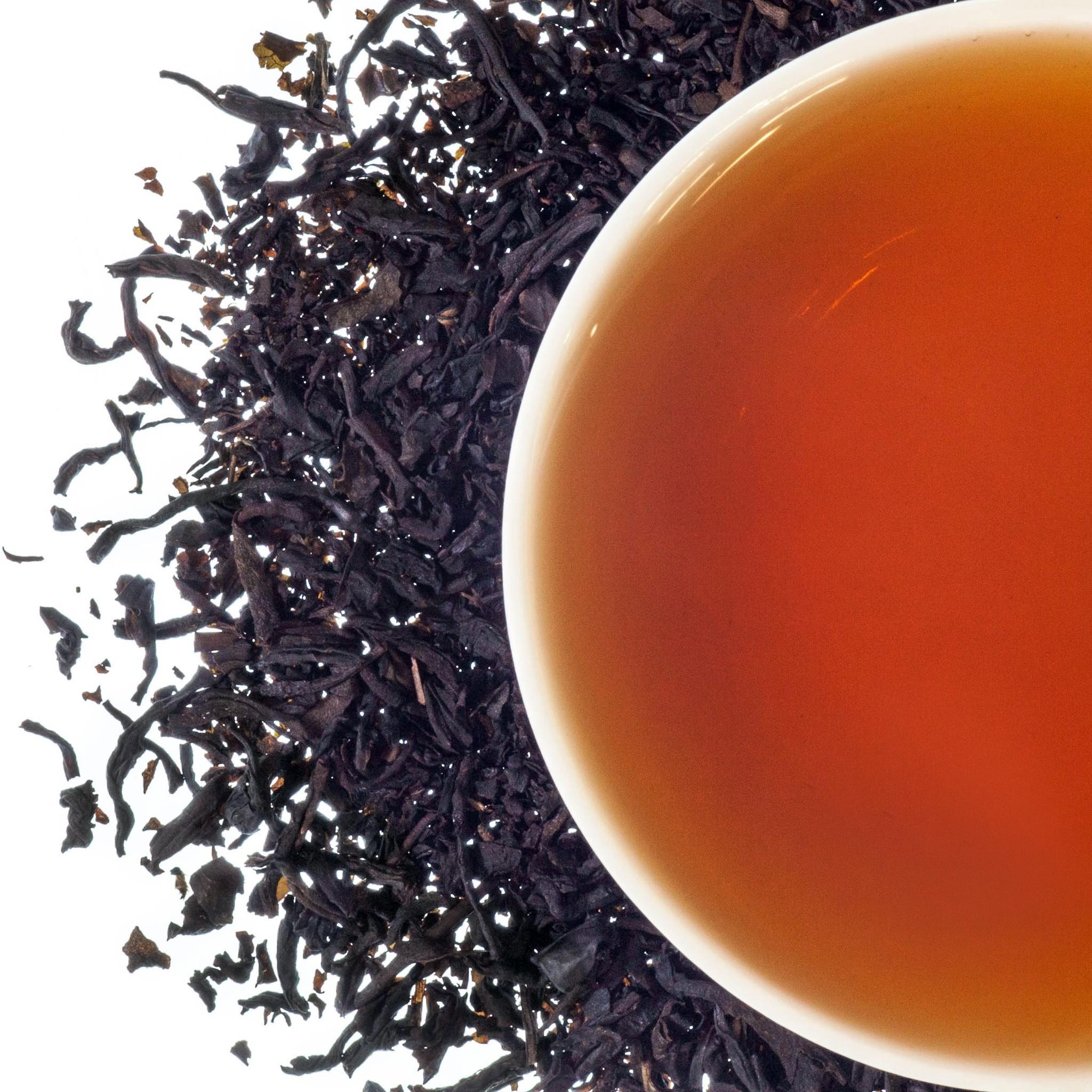 schwarzer tee gesunde ernährung toller geschmack