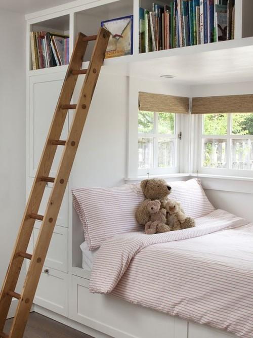 weiße möbel kleine schlafzimmer