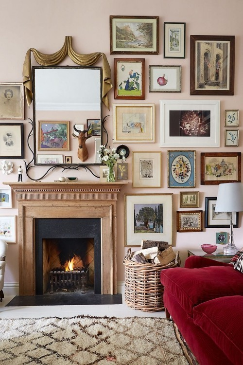 wohnzimmer ideen klassische pracht