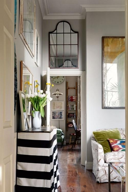 wohnzimmer ideen schwarz weiße möbeleinrichtung