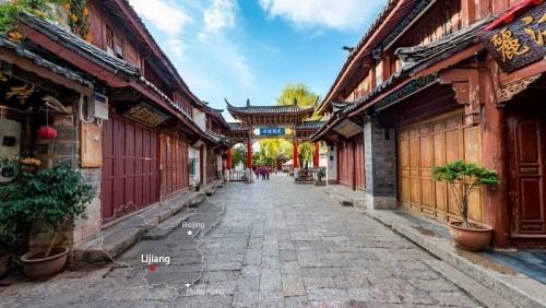 Altstadt von Lijiang China Sehenswürdigkeiten beliebtes Reiseziel