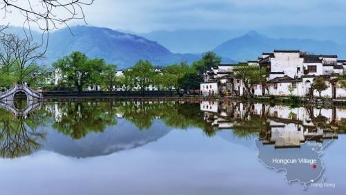 Bekannte sehenswerte Orte China Hongcun