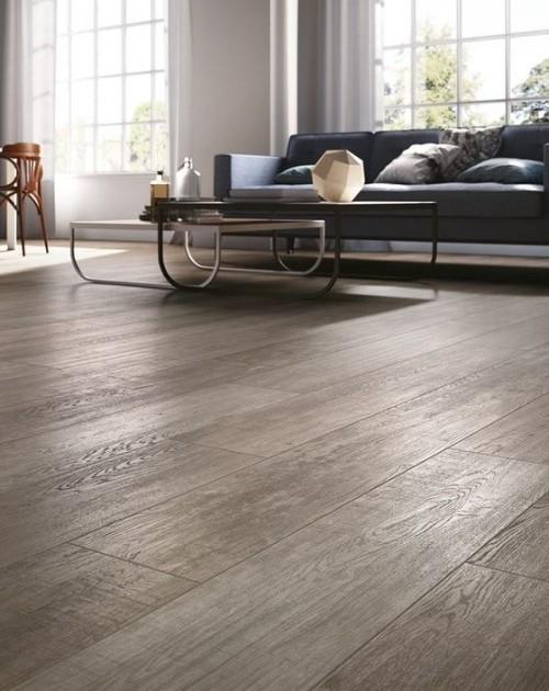 Dunkler Holzboden modernes Wohnzimmer großartige Raumgestaltung