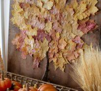 Herbstdeko Basteln Wundervolle Ideen Die Wärme Und Behaglichkeit