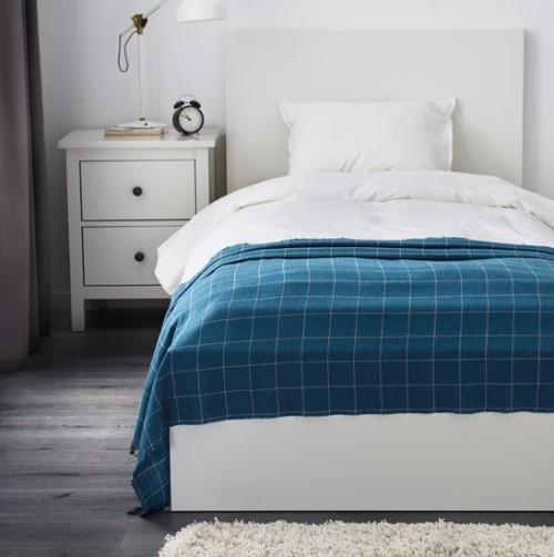 Ikea Katalog 2019 Varkrage Überwurfdecke fürs Bett