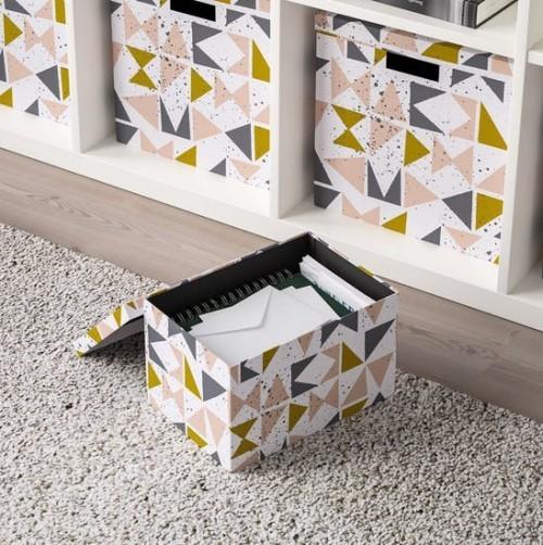 Ikea Katalog 2019 praktische Kisten zum Verstauen