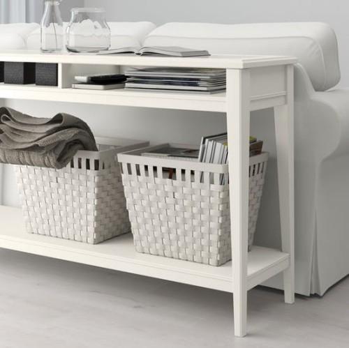 Ikea Katalog 2019 praktischer Konsolentisch findet guten Einsatz
