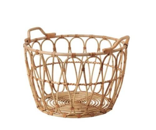 Ikea Katalog 2019 snidad basket ein Korb aus Rattan