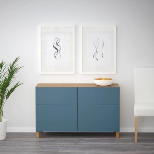 Ikea Katalog Besta Schubladenschrank elegant und praktisch