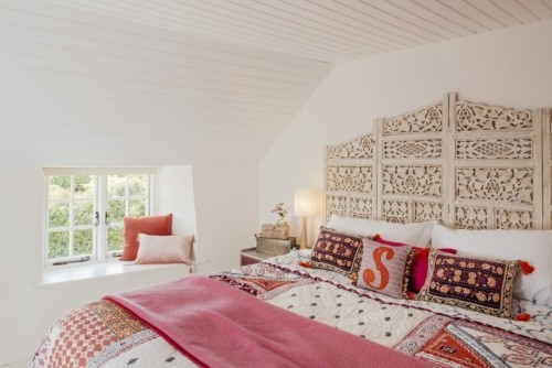 Indian Summer im Schlafzimmer einladende Atmosphäre