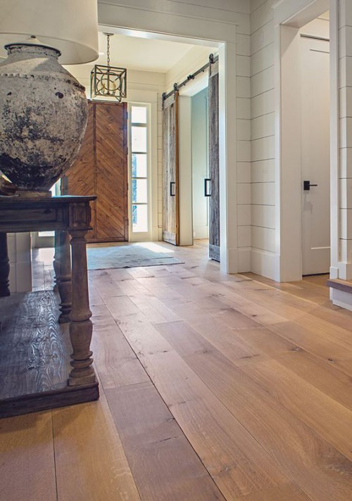 Natürlicher Charme schickes Ambiente Holzboden