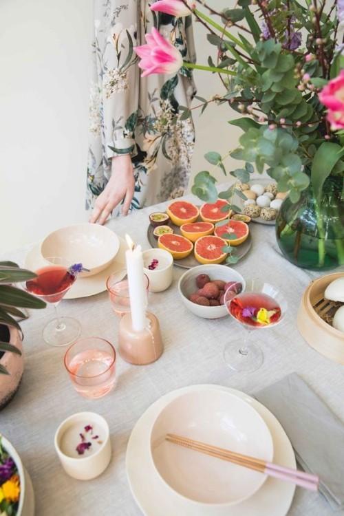 Tischdeko im Style Indian Summer mit Liebe zum Detail gestaltet