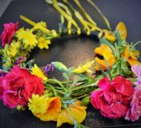 Blumenkranz: Echte Romantik fürs Selfie