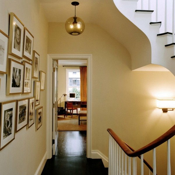 Light Fixtures For Hallways: Ceiling Lamp In The Hallway: Create A Cozy Lighting Mood