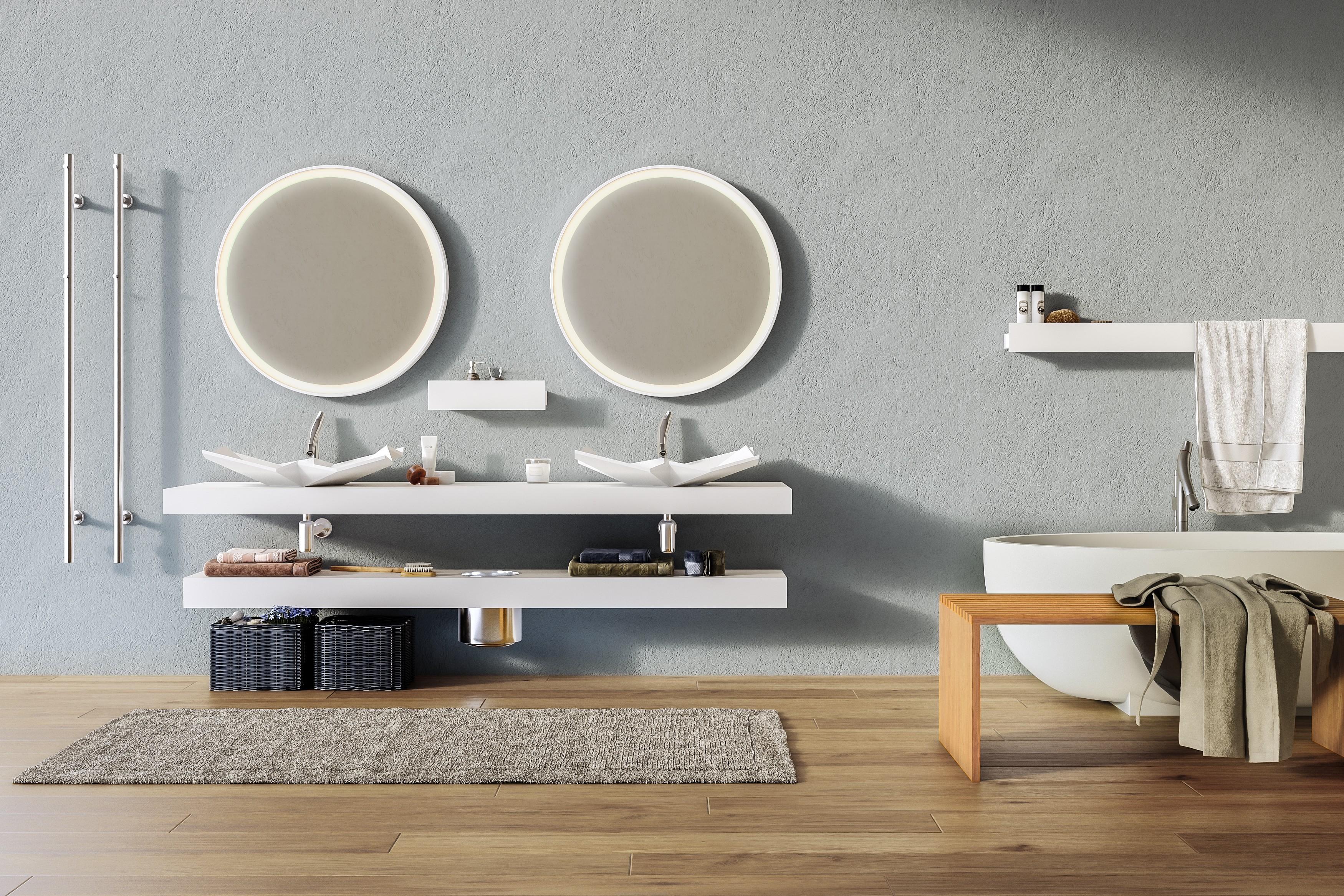 Design Waschbecken Doppelte Idee