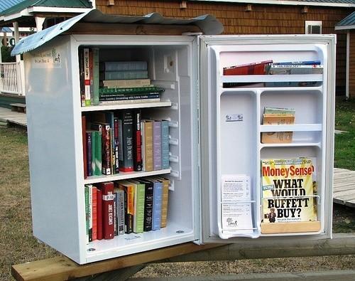 diy ideen alter kühlschrank