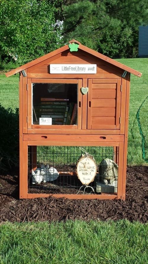 diy ideen so k nnen sie eine kostenlose kleine bibliothek selber machen fresh ideen f r das. Black Bedroom Furniture Sets. Home Design Ideas