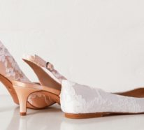 Hohe oder flache Brautschuhe? Die Wahl liegt bei Ihnen!